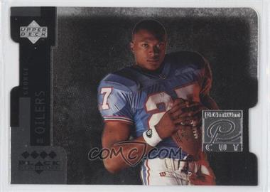 1998 Upper Deck Black Diamond - Premium Cut - Quadruple Diamond Horizontal #PC10 - Eddie George