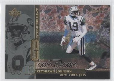 1998 Upper Deck Black Diamond Rookies - Extreme Brilliance #B18 - Keyshawn Johnson /19