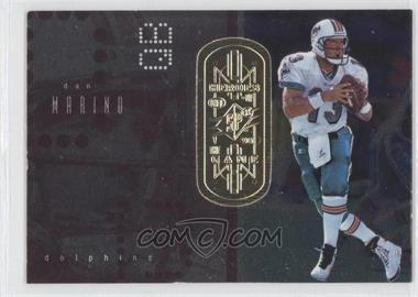 1998 Upper Deck SPx Finite - [Base] - Radiance #171 - Dan Marino /100
