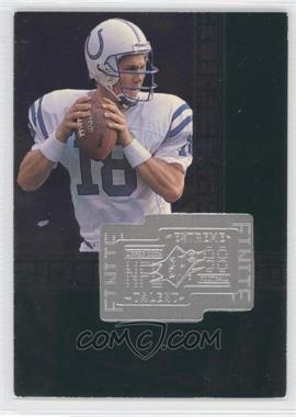 1998 Upper Deck SPx Finite - [Base] #287 - Peyton Manning /7200