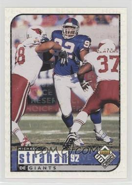 1998 Upper Deck UD Choice - [Base] - Choice Reserve #118 - Michael Strahan