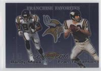 Randy Moss, Fran Tarkenton