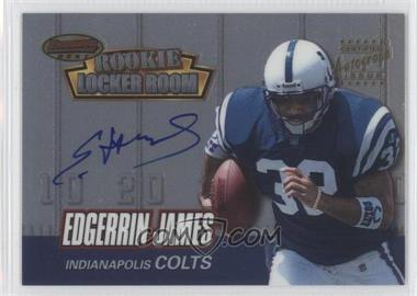 1999 Bowman's Best - Rookie Locker Room Collection Autographs #RA3 - Edgerrin James