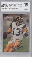 Kurt Warner (Promo) [ENCASED]