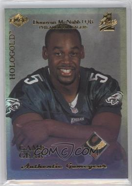 1999 Collector's Edge 1st Place - Rookie Gamegear - Hologold #RG2 - Donovan McNabb
