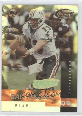1999 Collector's Edge Fury - [Base] - Hologold #90 - Dan Marino /50