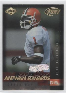 1999 Collector's Edge Fury - [Base] - Preview Galvanized #163 - Antuan Edwards