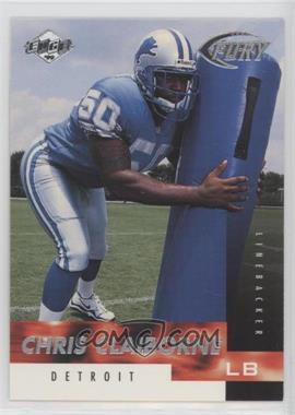 1999 Collector's Edge Fury - [Base] #158 - Chris Claiborne