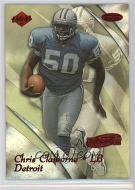 1999 Collector's Edge Masters - [Base] - Holosilver #71 - Chris Claiborne /3500