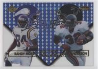 Randy Moss, Jamal Anderson #/1,000