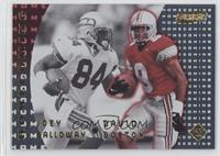 Joey Galloway, David Boston