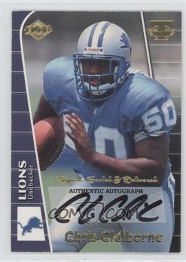 1999 Collector's Edge Triumph - Signed, Sealed & Delivered #CC - Chris Claiborne