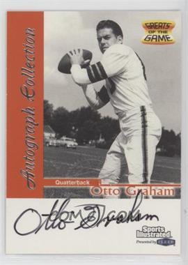 1999 Fleer Sports Illustrated - Autograph Collection #OTGR - Otto Graham