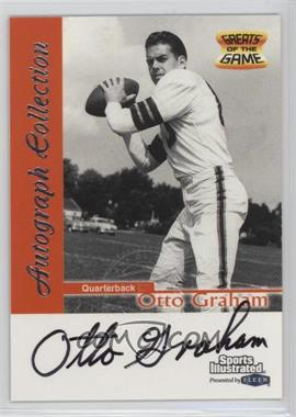 1999 Fleer Sports Illustrated - Autograph Collection #OTGR - Otto Graham
