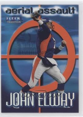 1999 Fleer Tradition - Aerial Assault #6AA - John Elway