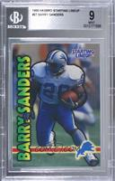 Barry Sanders [BGS 9 MINT]