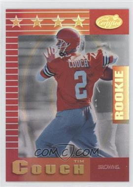 1999 Leaf Certified - [Base] - Mirror Red #189 - Tim Couch