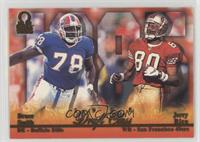 Jerry Rice, Bruce Smith