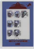 Charlie Batch, Johnnie Morton, Sedrick Irvin, Herman Moore, Barry Sanders, Chri…