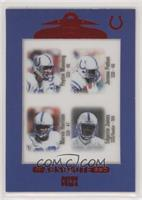 Peyton Manning, Jerome Pathon, Marvin Harrison, Edgerrin James