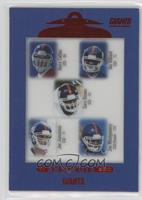 Kerry Collins, Ike Hilliard, Gary Brown, Joe Jurevicius, Joe Montgomery