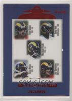 Torry Holt, Marshall Faulk, Isaac Bruce, Trent Green, Joe Germaine
