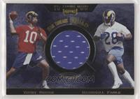 Trent Green, Marshall Faulk, Isaac Bruce, Torry Holt [EX to NM]