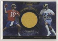 Trent Green, Marshall Faulk, Isaac Bruce, Torry Holt