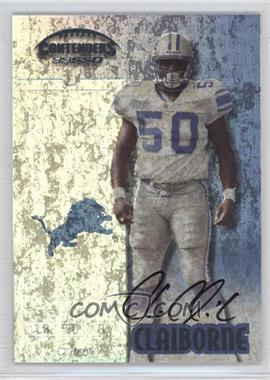 1999 Playoff Contenders SSD - [Base] #159 - Chris Claiborne