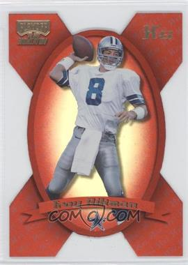1999 Playoff Momentum SSD - [Base] - Xs #112 - Troy Aikman /300