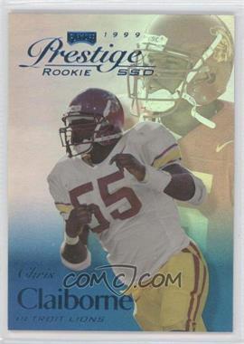 1999 Playoff Prestige SSD - [Base] - Spectrum Blue #B167 - Chris Claiborne /500