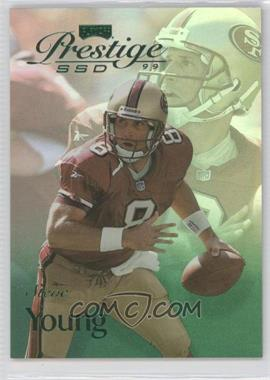 1999 Playoff Prestige SSD - [Base] - Spectrum Green #B110 - Steve Young /500