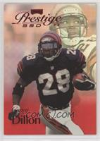 Corey Dillon [Noted] #/500