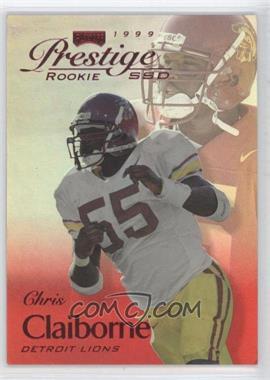 1999 Playoff Prestige SSD - [Base] - Spectrum Red #B167 - Chris Claiborne /500
