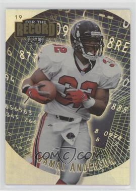 1999 Playoff Prestige SSD - For the Record #FR23 - Jamal Anderson