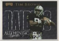 Tim Brown [Noted] #/250