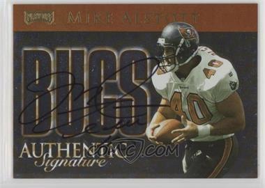 1999 Playoff Prestige SSD - Team Checklist - Authentic Signature [Autographed] #CL29 - Mike Alstott /250
