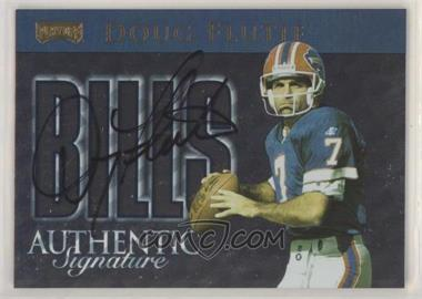 1999 Playoff Prestige SSD - Team Checklist - Authentic Signature [Autographed] #CL4 - Doug Flutie /250