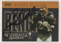Corey Dillon [Noted] #/250