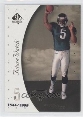 1999 SP Authentic - [Base] #95 - Donovan McNabb /1999