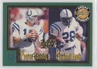 Peyton Manning, Marshall Faulk #/1,989