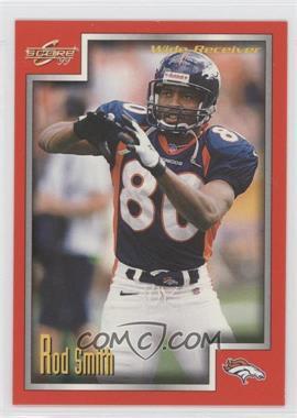 1999 Score - [Base] #186 - Rod Smith