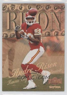1999 Skybox Metal Universe - [Base] - Precious Metal Gems #70 - Andre Rison /50