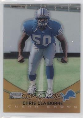 1999 Stadium Club Chrome - Clear Shots #SCCE3 - Chris Claiborne
