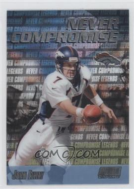 1999 Stadium Club Chrome - Never Compromise #NC37 - John Elway
