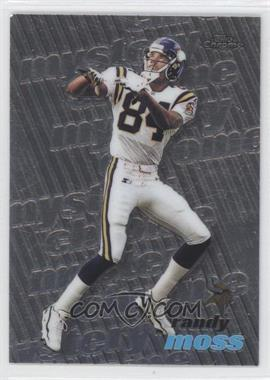1999 Topps - Mystery Chrome #M19 - Randy Moss, (Chris Chandler, John Elway, Troy Edwards)