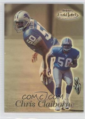 1999 Topps Gold Label - [Base] - Class 2 #59 - Chris Claiborne