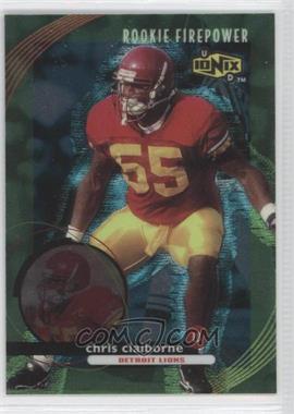 1999 UD Ionix - [Base] #72 - Chris Claiborne