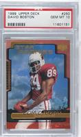 David Boston [PSA 10 GEM MT]