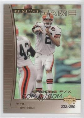 1999 Upper Deck Encore - Seize the Game - F/X Gold #SG28 - Tim Couch /250